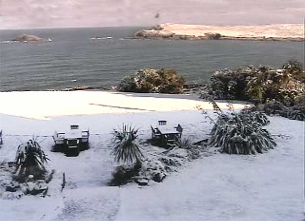 webcam Crantock Bay Hotel Cornwall