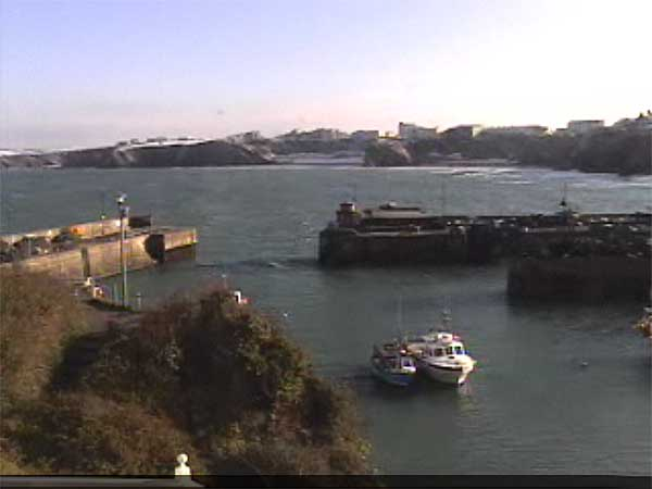 Webcam Newquay Harbour