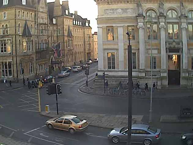 webcam Oxford University Oxfordshire