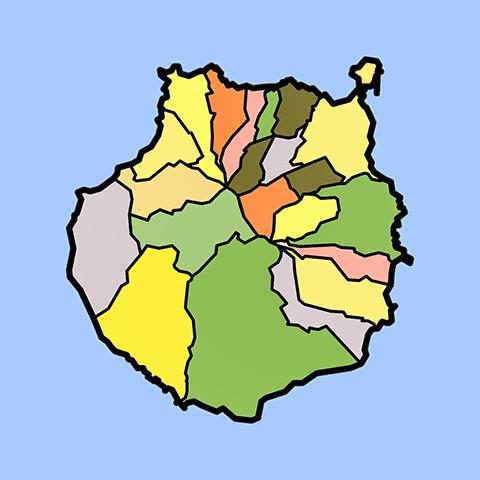 Mapa Municipios Gran Canaria.Webcam Gran Canaria Playas Tiempo En Directo Por Camaras Web
