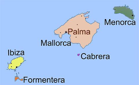 Mapa de gran canaria playas