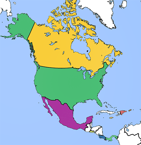 Map Of North America Jamaica.Webcam Jamaica Inland Live Weather Streaming Web Cameras