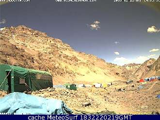 Webcam Mount Aconcagua