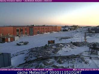 Webcam Casey Station