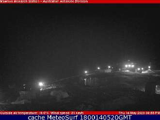 Webcam Mawson Station