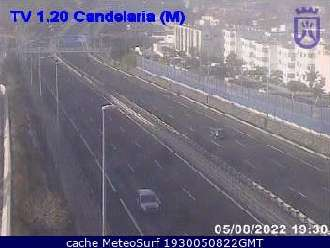 Webcam Candelaria Trafico