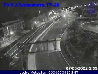 Webcam Santa Cruz Somosierra