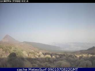 Webcam Teide Izaña