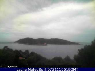 Webcam Île de Port Cros