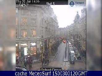 Webcam London Oxford Street
