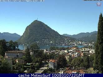 Webcam Monte San Salvatore