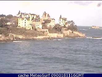 Webcam Dinard Pointe