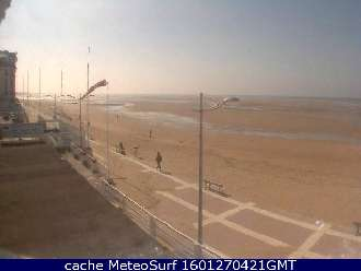 Webcam Normandie beaches. Live weather streaming web cameras
