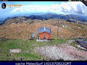 Webcam Monte Tomba Rifugio