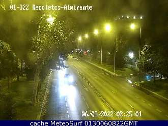 Webcam Paseo de Recoletos Almirante