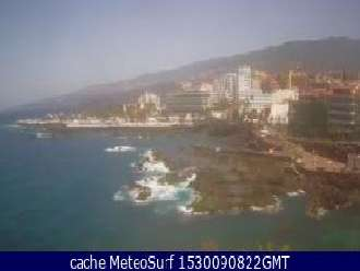 Webcam Puerto de la Cruz