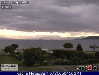 Webcam Taupo