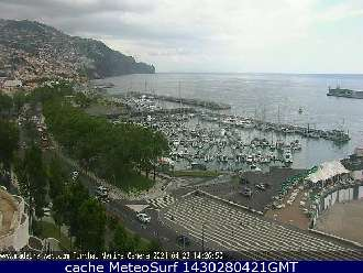 Webcam Funchal Avenida do Mar
