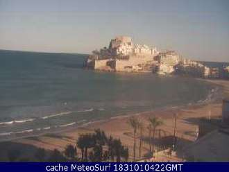 webcam peñiscola castello