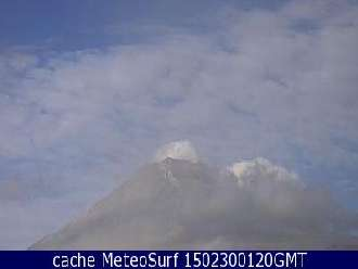 Webcam Popocatepetl Volcán