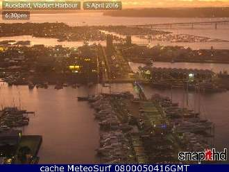 Webcam Auckland Harbour