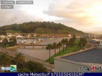 Webcam Gisborne