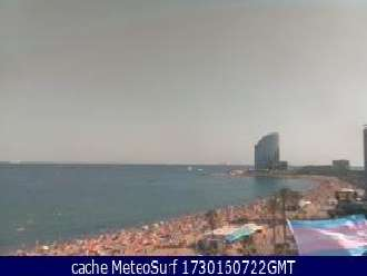 Webcam Barceloneta Beach