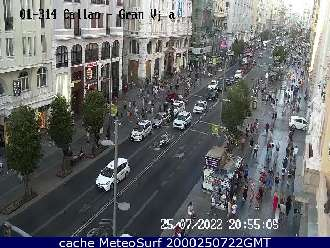 Webcam Madrid Ciudad