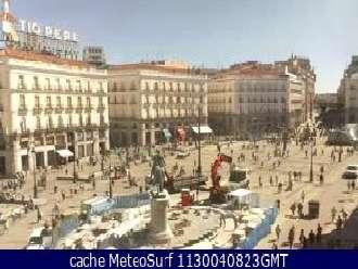 Webcam portugal praias tempo ao vivo web c maras - Webcam puerta del sol ...