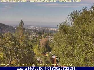 Webcam Redwood City Emerald Hills