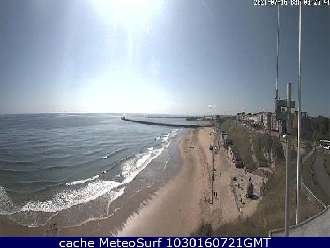 Webcam Roker Beach Sunderland