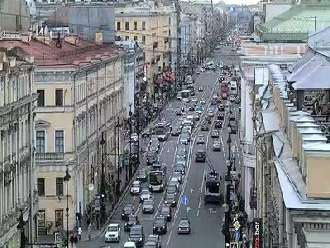 Webcam San Petersburgo