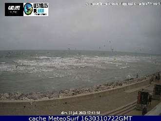 Webcam Wissant Surf