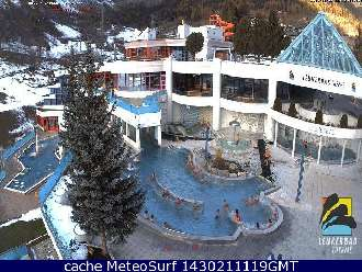 Webcam Leukerbad Therme