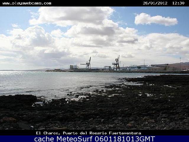 Web Cam Puerto del Rosario