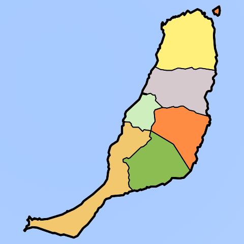 Cartina Spagna Fuerteventura.Webcam Fuerteventura Spiagge Meteo Live Web Cameras