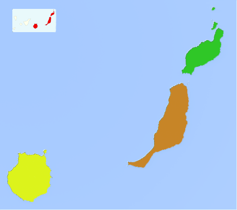 Las Palmas map